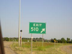 Montana Exit # 510