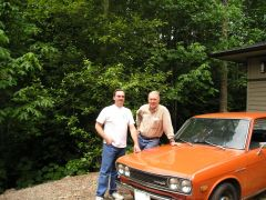 Me and Pete Brock with the new 510