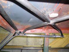 Dan Cook's Rally Car Cage - Roof Bracing