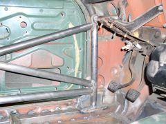 Dan Cook's Rally Car Cage - Driver Door & Forward Side Hoop Bracing