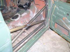 Dan Cook's Rally Car Cage - Passenger Door Side Protection