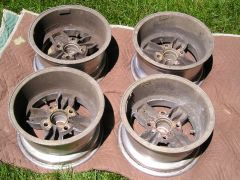 "Nice set of 13"" x 7"" American Racing Equipment Libres"
