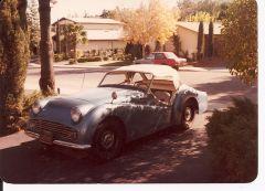 My Aunt's Triumph TR-3