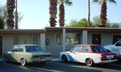 Two 510s at the motel