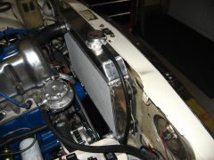 Champion aluminum radiator installation