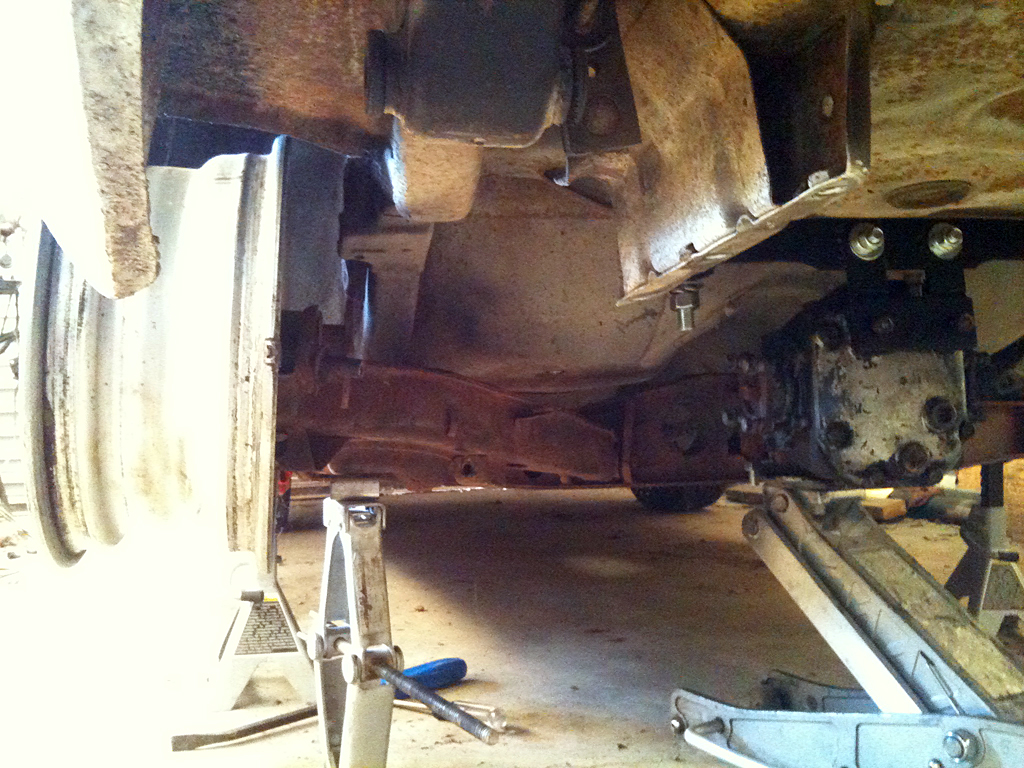 Swing arm view