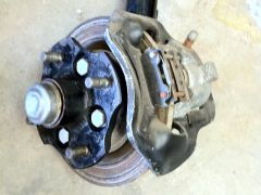 Old front brakes