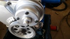 Pulleys on