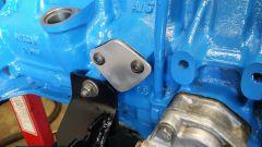 Fuel pump blockoff
