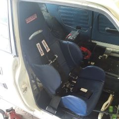 Seat and harness in