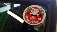 Daruma doll sticker