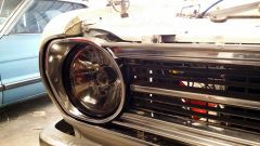 Sedan headlight surround