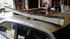 Foam cut...
