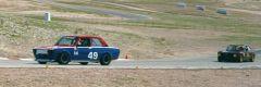 Datsun leads Alfa.