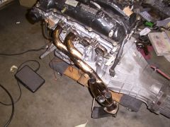 Using another motor for header mock up.