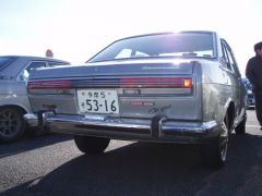 Silver Coupe rear