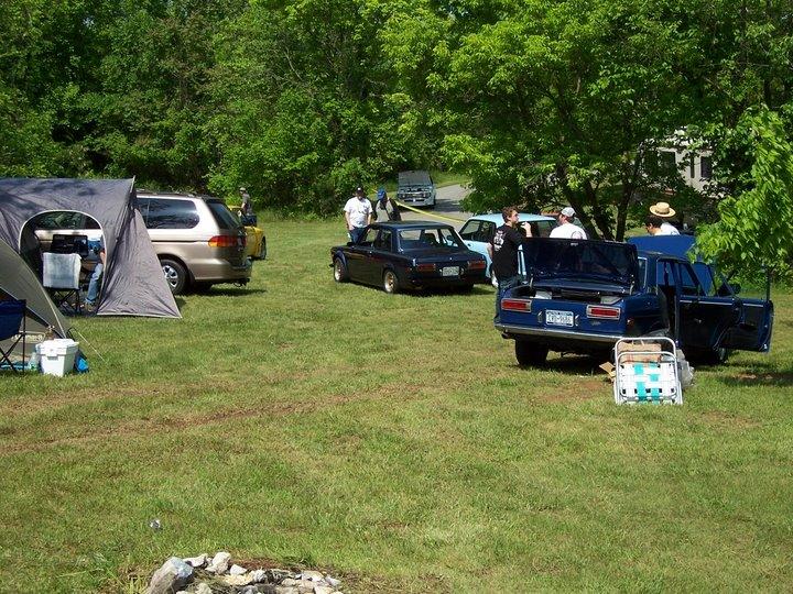 12th Annual East Coast Datsun 510 meet Summit Point Raceway 2008