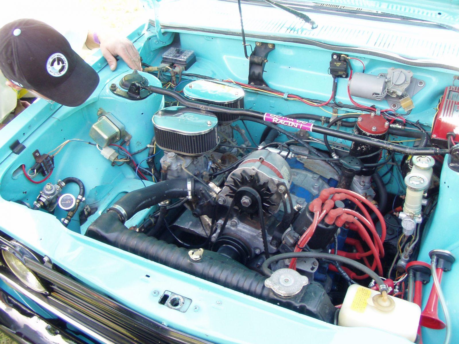 Vince's Rotary powered 2 door