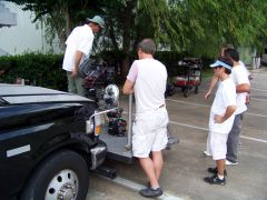 Mounting cameras