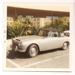 Dad's '66 1600 Roadster