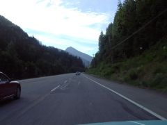 Road to Manning Park.