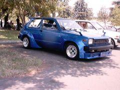 Toyota Starlet widebody frt.