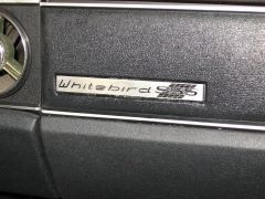 Whitebird Glove Box Badge