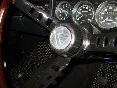 Whitebird Steering Wheel Medallion