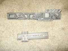 Cast Aluminum badges