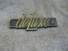 Deluxe Rear Panel Badge