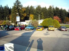 Last fuel stop back at Hope BC