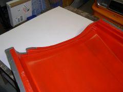 Full Length Box Flare Molds, Leading Edge at Door Opening