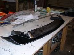 BRE Spook in Carbon Fiber, Just out of the mold