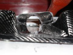 BRE Spook in Carbon Fiber, Right Brake duct