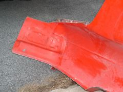 B13 Sentra- LR Quarter Panel, Taillight Section of Mold