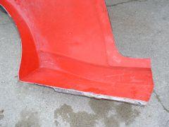 B13 Sentra-LR Quarter Panel-Door to Rear Wheel Opening in Mold