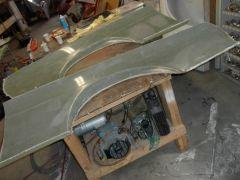 FutoFab Lt & Rt Rear Quarter Panel Molds w/BRE Flare
