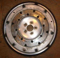 Alum. L16 L18  5 bolt Flywheel frt.