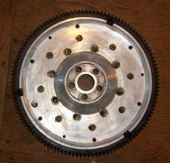 Alum. L16 L18 5 bolt Flywheel rear