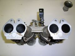 50mm Mikuni Carbs/Manifold, the Manifold Gasket Side