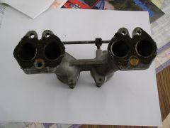Single Weber Sidedraft Manifold, Gasket Side