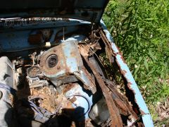 Rusty Driver Side Inner Fender