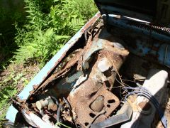 Rusty Passenger Side Inner Fender