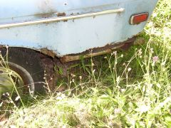 Rusty Rear Quarter