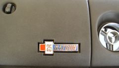 2.5 Challenge TransAm Blove Box Badge