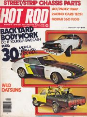 Hot Rod Magazine Datsun Feature