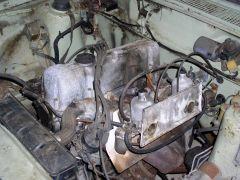 1971 Datsun 510 barn find, 7 - Engine