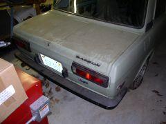 1971 Datsun 510 barn find, 3 - Rear