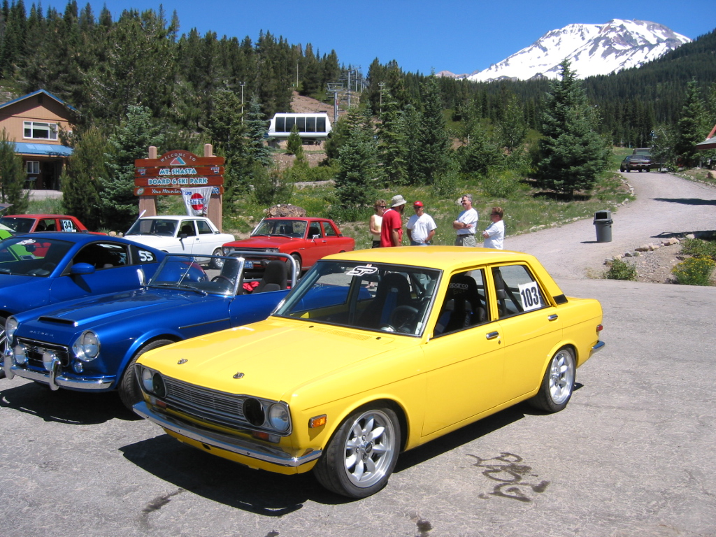 2003 Shasta All Datsun Meet 510's