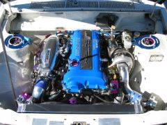 2003 Shasta All Datsun Meet engine shots